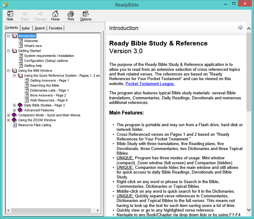 Ready Bible Study & Reference software v3 14 | Michael's